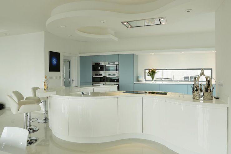 Mr and Mrs Lee Bradburys 現代廚房設計點子、靈感&圖片