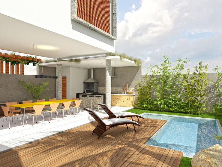 Macro Arquitetos Casas modernas