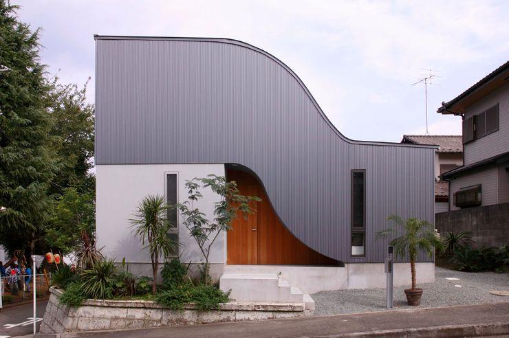 藤井伸介建築設計室 Casas estilo moderno: ideas, arquitectura e imágenes