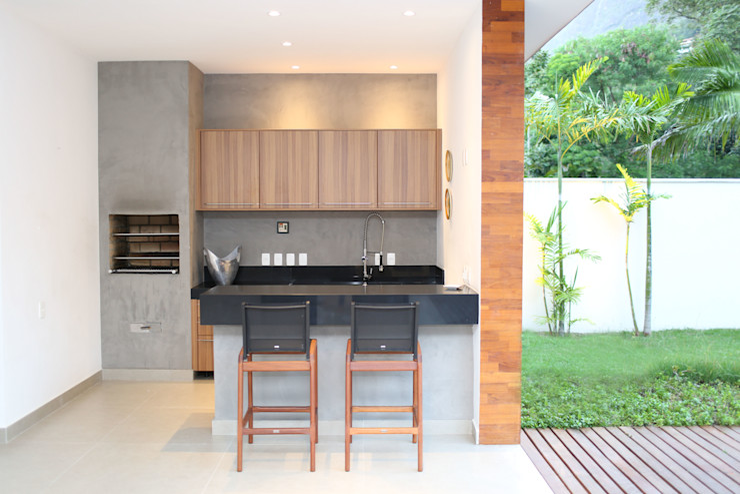 Adriana Leal Interiores Casas estilo moderno: ideas, arquitectura e imágenes Madera Negro
