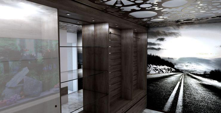 Principia Design Phòng thay đồ phong cách hiện đại