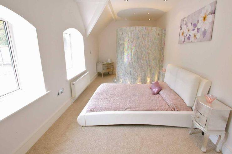 Draethen Farm House Conversion Smarta Kamar Tidur Modern