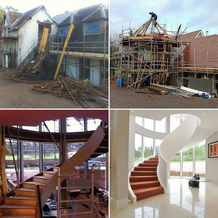 Draethen Farm House Conversion Smarta Rumah Modern