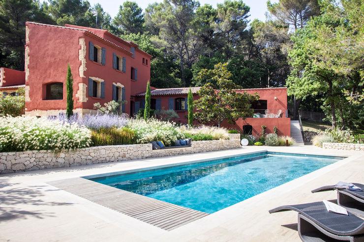 EGUILLES - jardin méditerranéen Agence MORVANT & MOINGEON Jardin méditerranéen