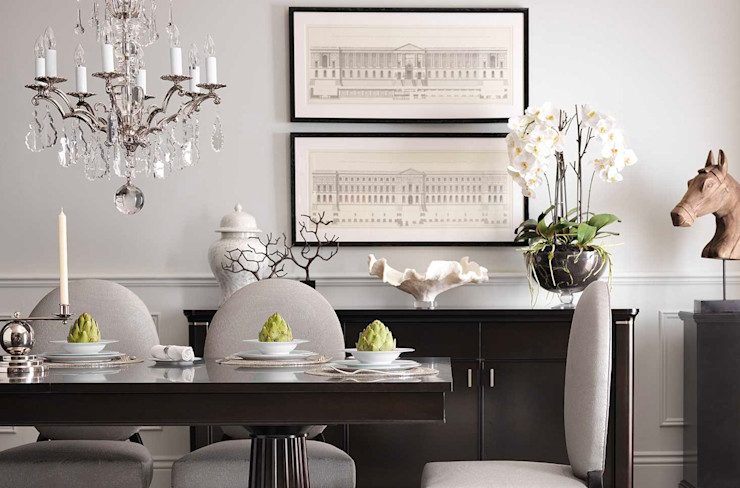 Conexo. Dining roomAccessories & decoration Solid Wood Grey