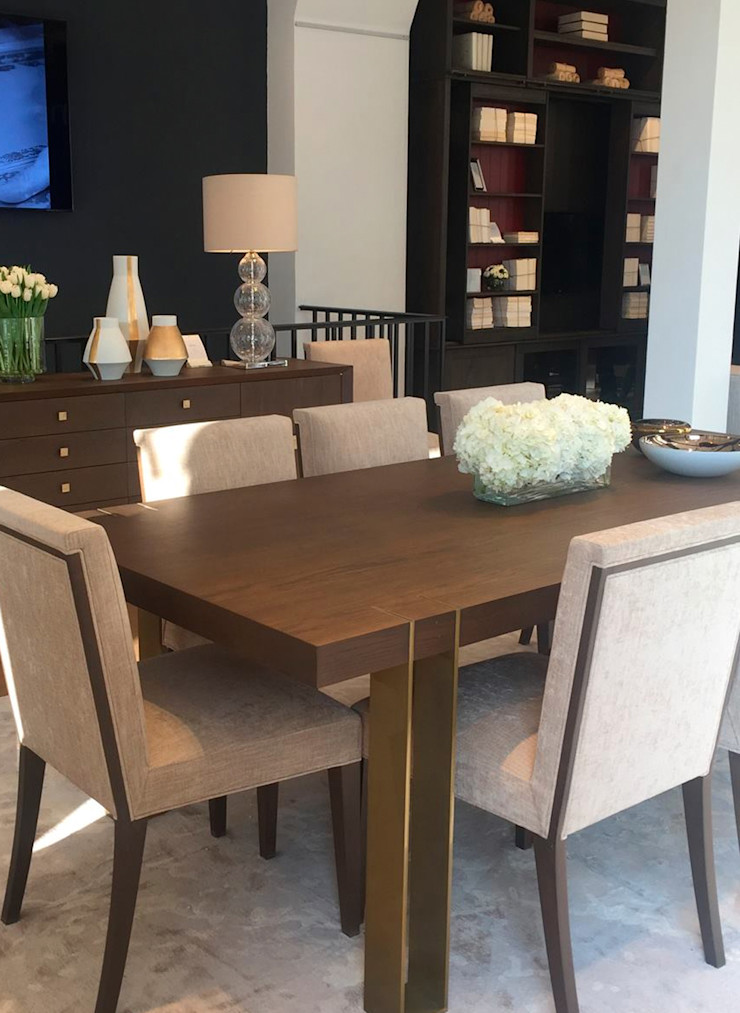 Conexo. Dining roomTables Solid Wood Brown