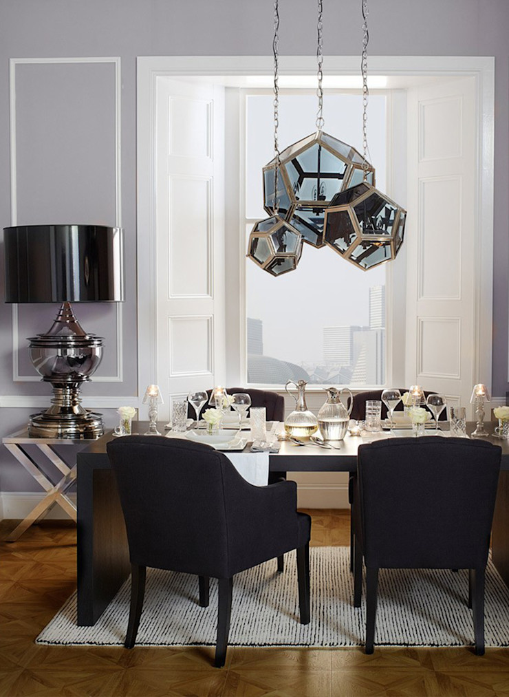 Conexo. Dining roomChairs & benches Solid Wood Black