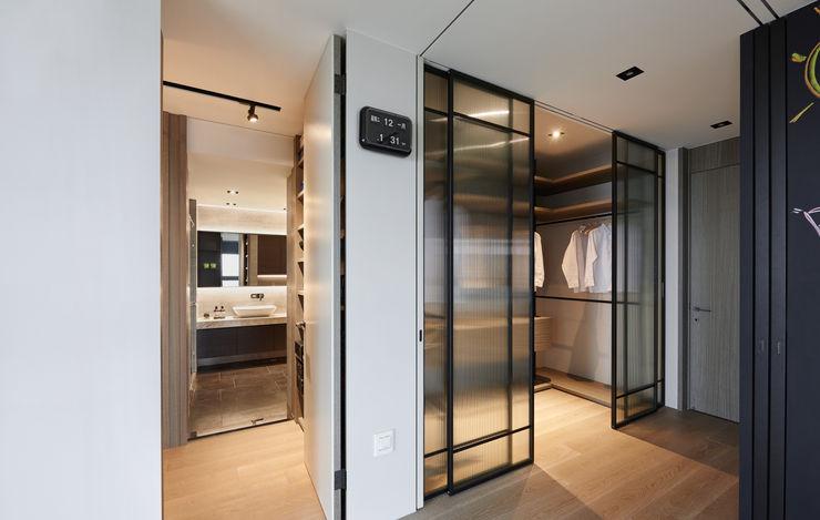 大觀室內設計工程有限公司 Industrial style bedroom