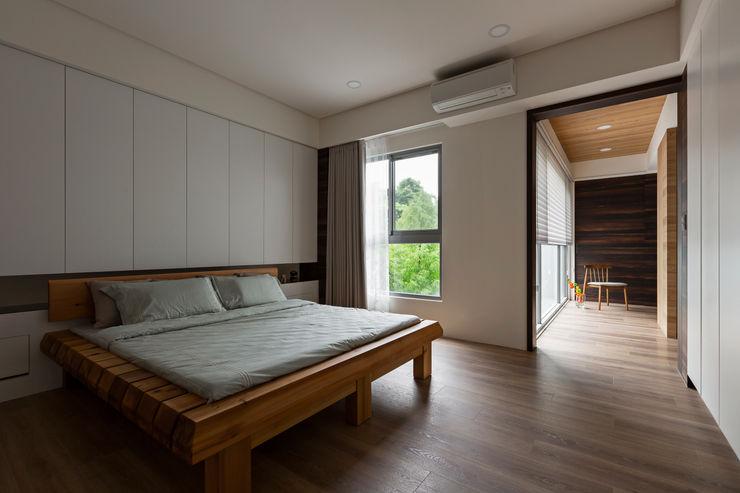 賀澤室內設計 HOZO_interior_design homify 臥室