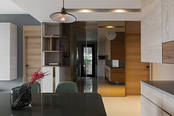 賀澤室內設計 HOZO_interior_design homify Eclectic style kitchen