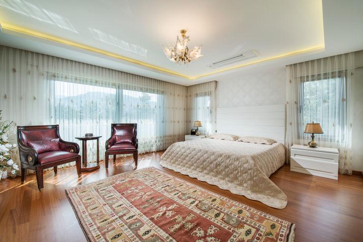 SAHİLEVLERİ VİLLA T.B. Mimode Mimarlık/Architecture Modern Yatak Odası
