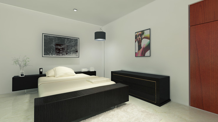 CouturierStudio Moderne Schlafzimmer