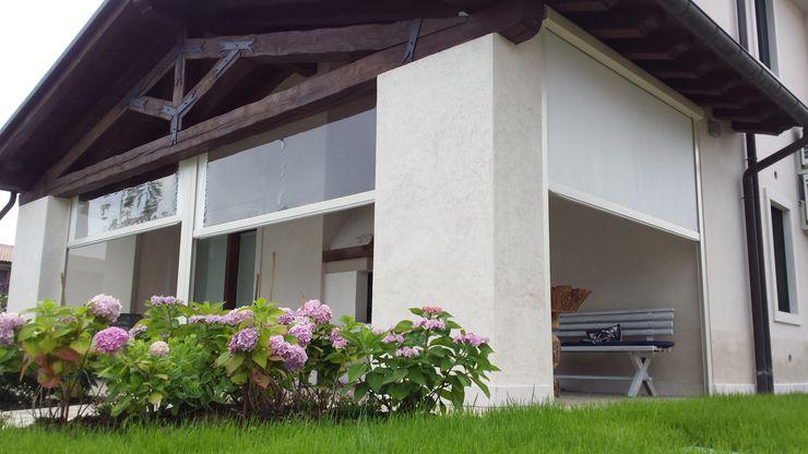 Come vivere un portico tutto l'anno VIP TENDE Case moderne