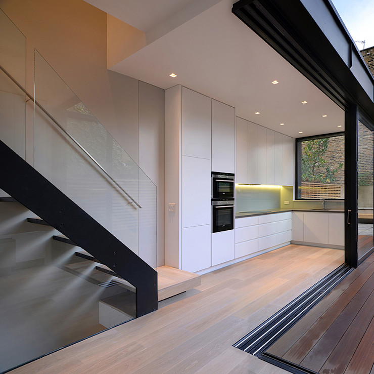 St Paul Street Ciarcelluti Mathers Architecture Kitchen MDF White