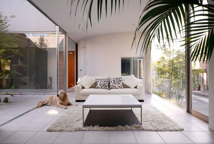藤井伸介建築設計室 Livings de estilo moderno