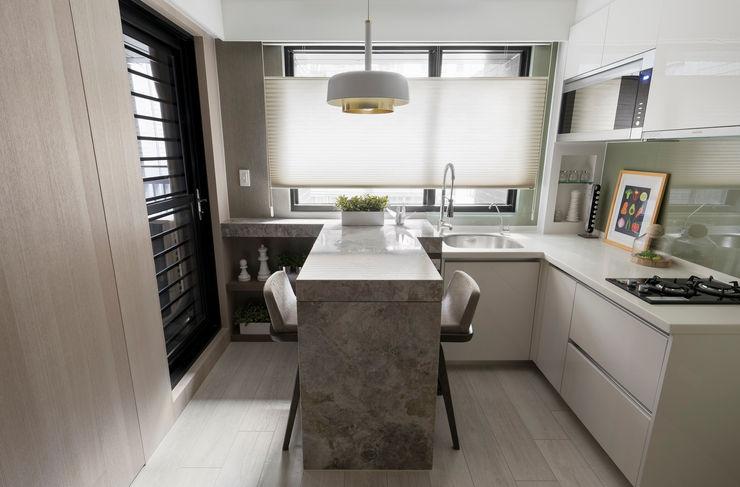 私宅-綠溢 思為設計 SW Design 餐廳