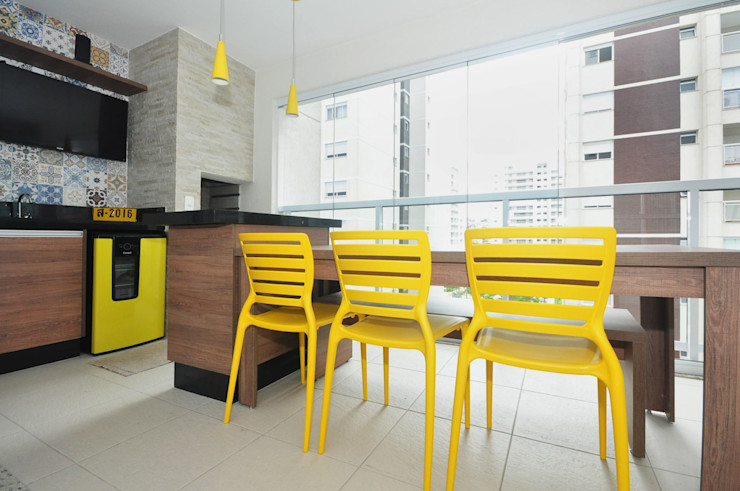 Condecorar Arquitetura e Interiores Varandas, marquises e terraços clássicas
