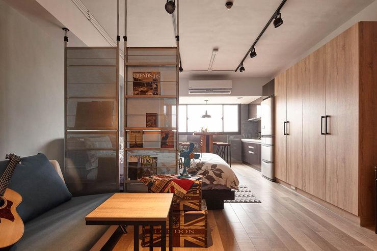 耀昀創意設計有限公司/Alfonso Ideas 스칸디나비아 거실