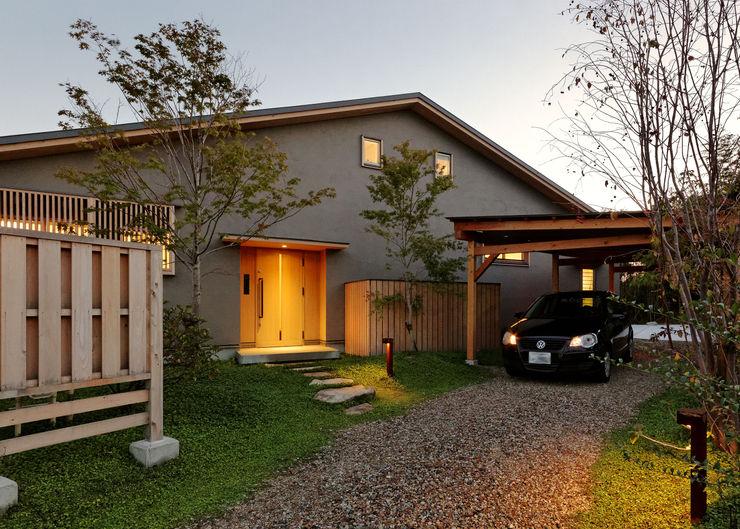 磯村建築設計事務所 Asian style houses