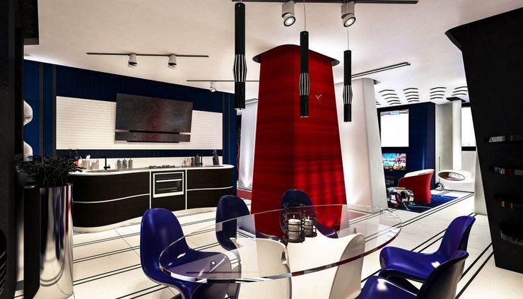 Denis Confalonieri - Interiors & Architecture 現代廚房設計點子、靈感&圖片