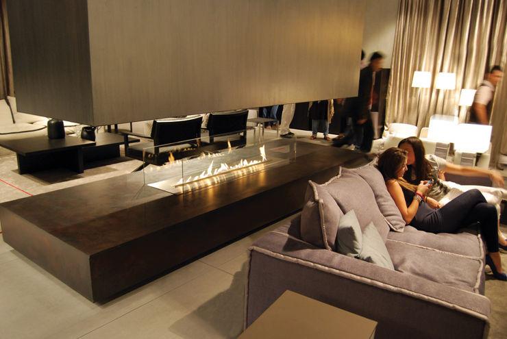 Clearfire - Lareiras Etanol Living room