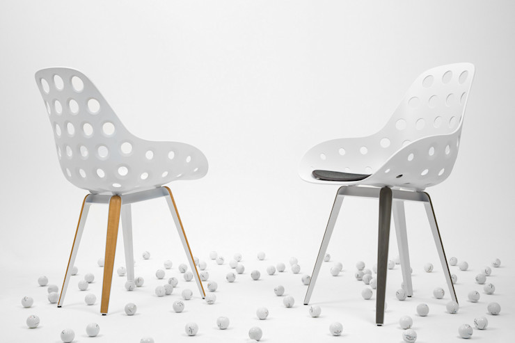 Slice chair Studio Sander Mulder SalonesTaburetes y sillas