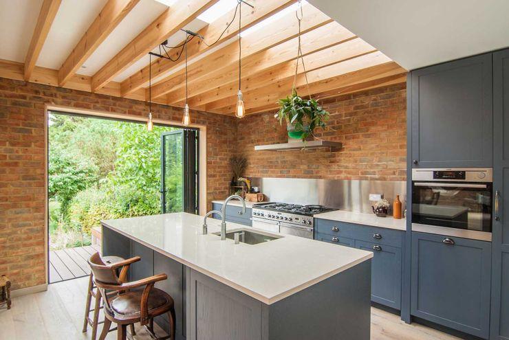 Epsom Bradley Van Der Straeten Architects 現代廚房設計點子、靈感&圖片