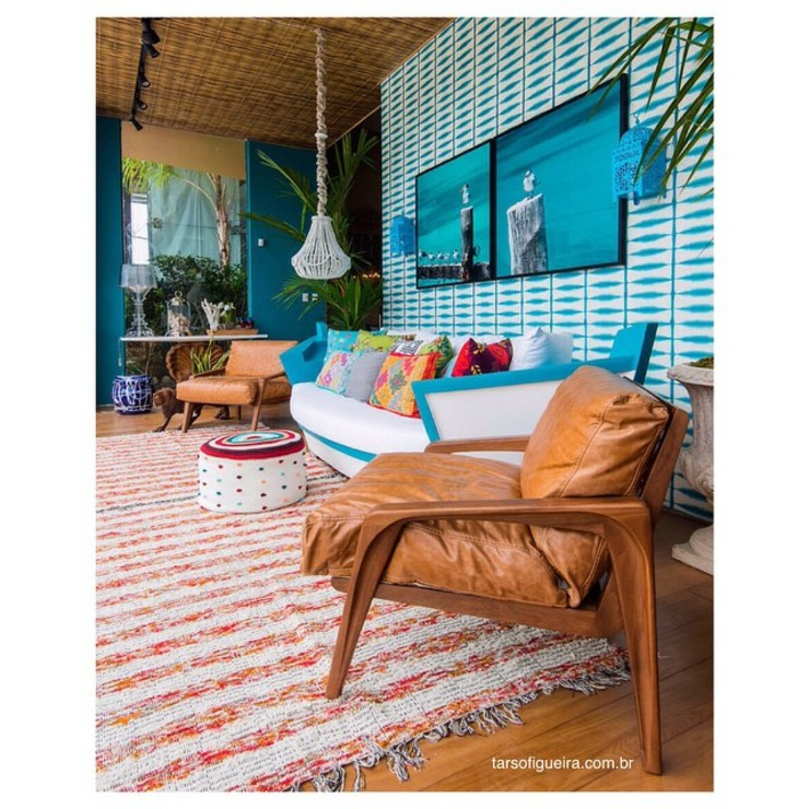 Haifatto Arq + Decor Eclectic style houses Marble Blue