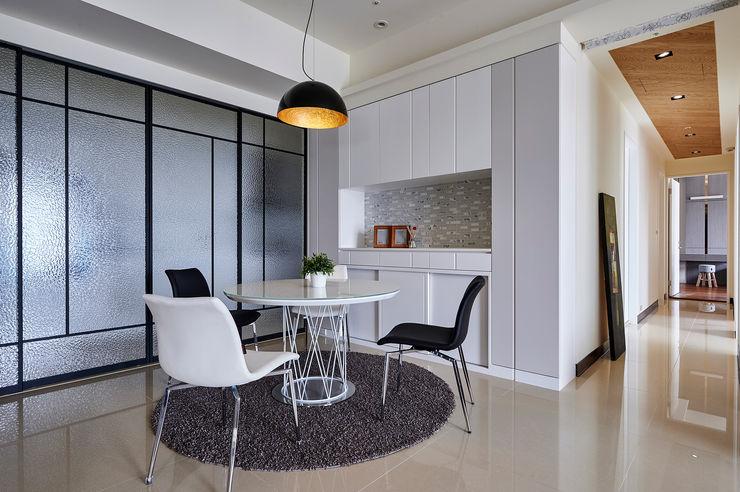 舍子美學設計有限公司 Modern dining room