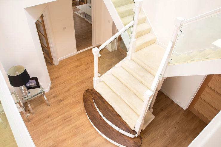 Stairs dwell design Modern corridor, hallway & stairs