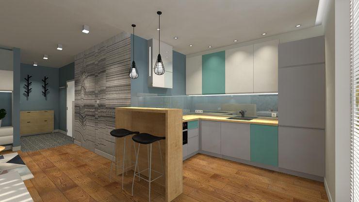 Icw Studio 現代廚房設計點子、靈感&圖片