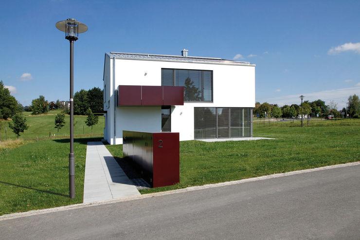 Ansicht von Südwesten Fichtner Gruber Architekten Moderne Häuser
