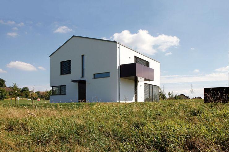 Ansicht von Nordwesten Fichtner Gruber Architekten Moderne Häuser