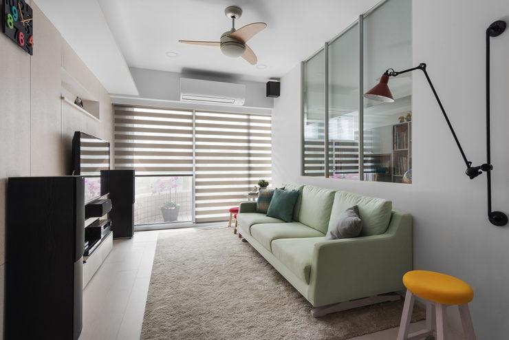 倍果設計有限公司 Scandinavian style living room