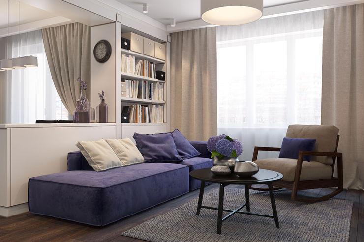 Осейко Алексей и Виктория Scandinavian style living room