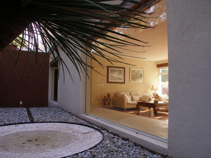 Casa T, Coyoacan gremio Jardines modernos