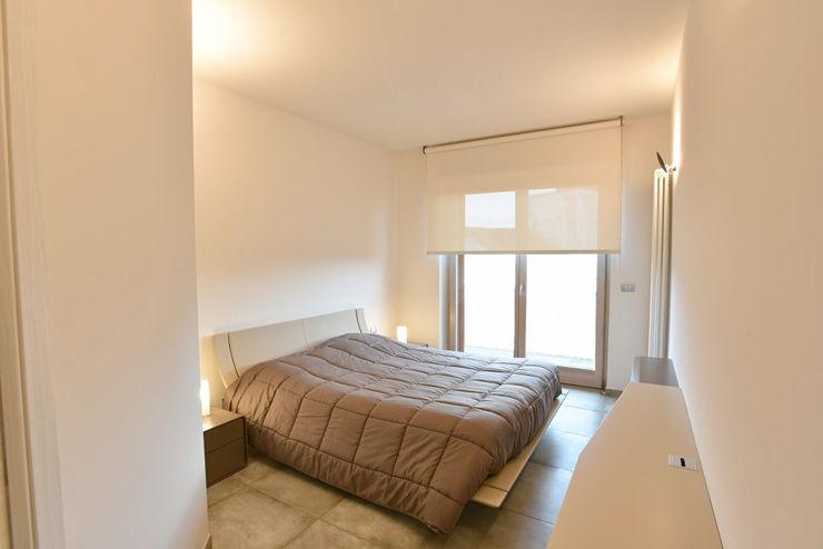 appartamento C+G – 2015 architetto Davide Fornero Camera da letto moderna