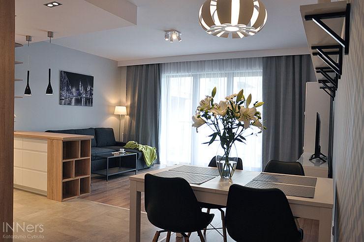 INNers - architektura wnętrza Scandinavian style living room