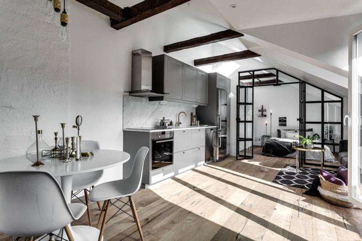 37 mq intelligenti Design for Love Cucina in stile scandinavo