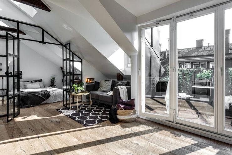 37 mq intelligenti Design for Love Soggiorno in stile scandinavo