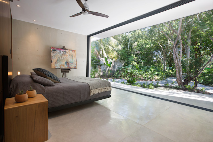 FGO Arquitectura Modern style bedroom