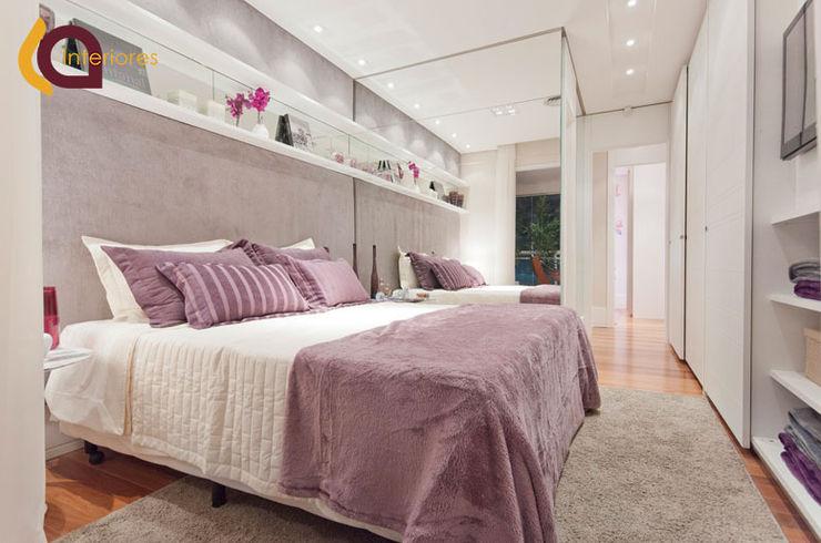 LA Interiores Modern Bedroom MDF Purple/Violet