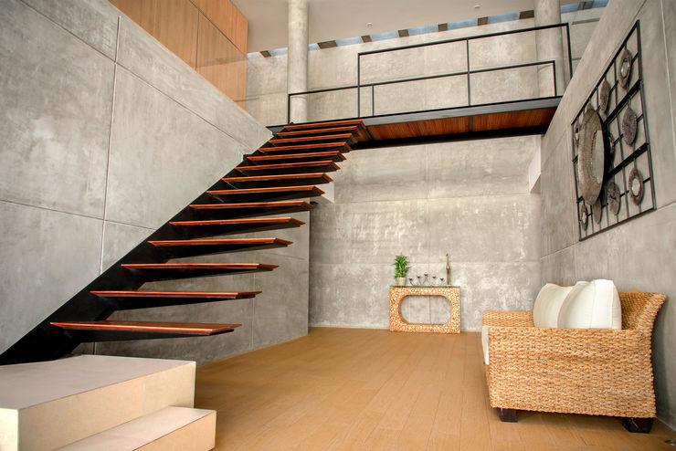 CASA LIVING Chetecortés Pasillos, vestíbulos y escaleras modernos