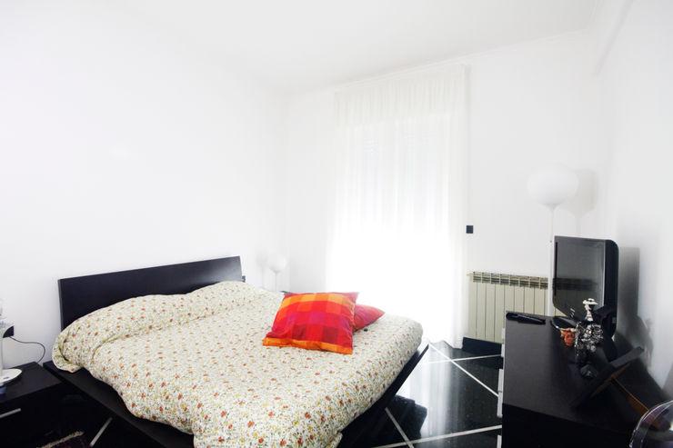 CASA C&A Andrea Orioli Camera da letto minimalista Legno Marrone