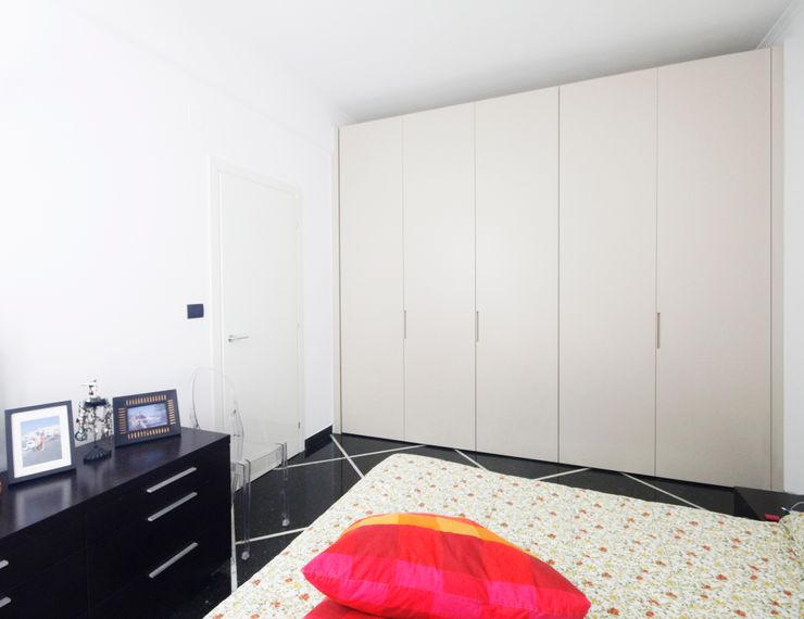 CASA C&A Andrea Orioli Camera da letto minimalista Legno Beige