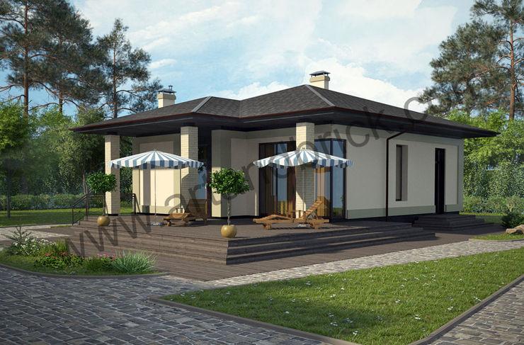 Архитектурное бюро Art&Brick Classic style houses