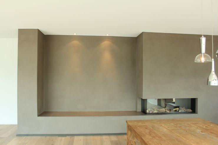 Die fertige Wand Maler Kecker Raumgestaltung
