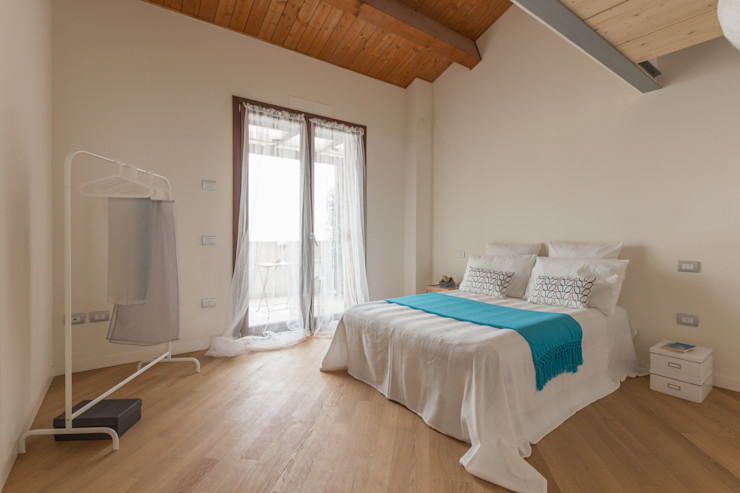 Anna Leone Architetto Home Stager Quartos minimalistas