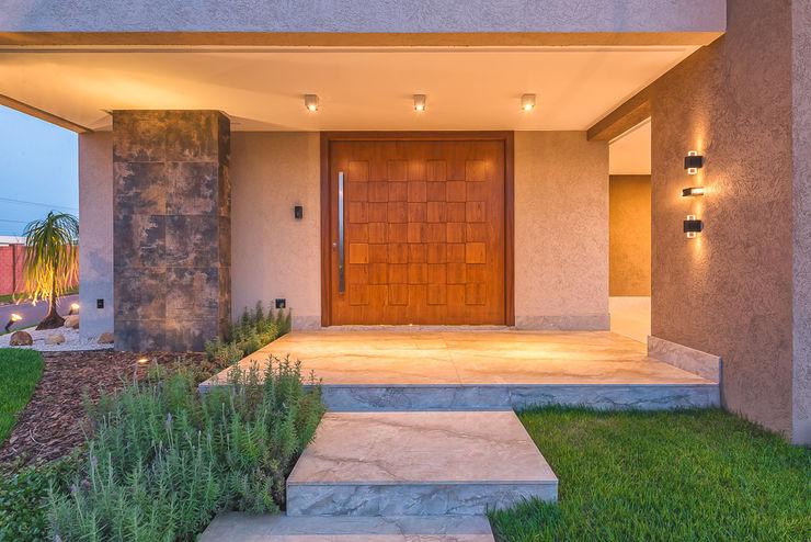Projeto residencial em condomínio fechado 360+ arquitetura e interiores Casas modernas