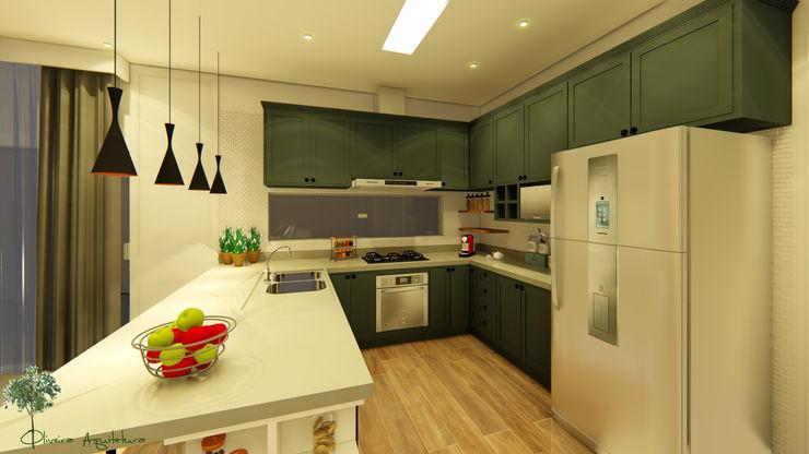 Oliveira Arquitetura Modern Kitchen